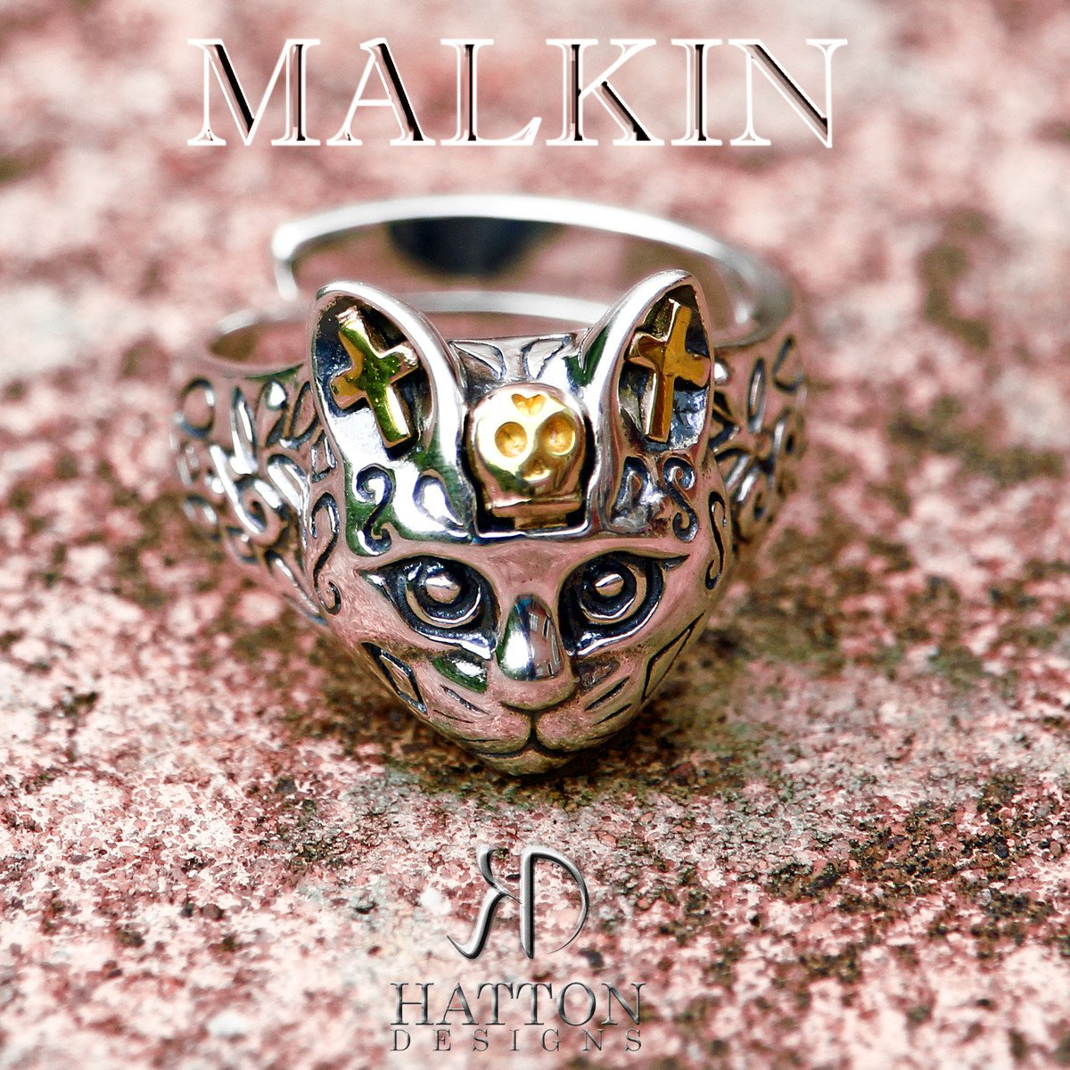 Hatton Designs MALKIN Ladies Sterling Silver ring