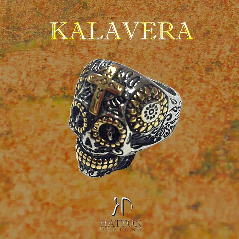 HATTON DESIGNS KALAVERA Stainless Steel Ring