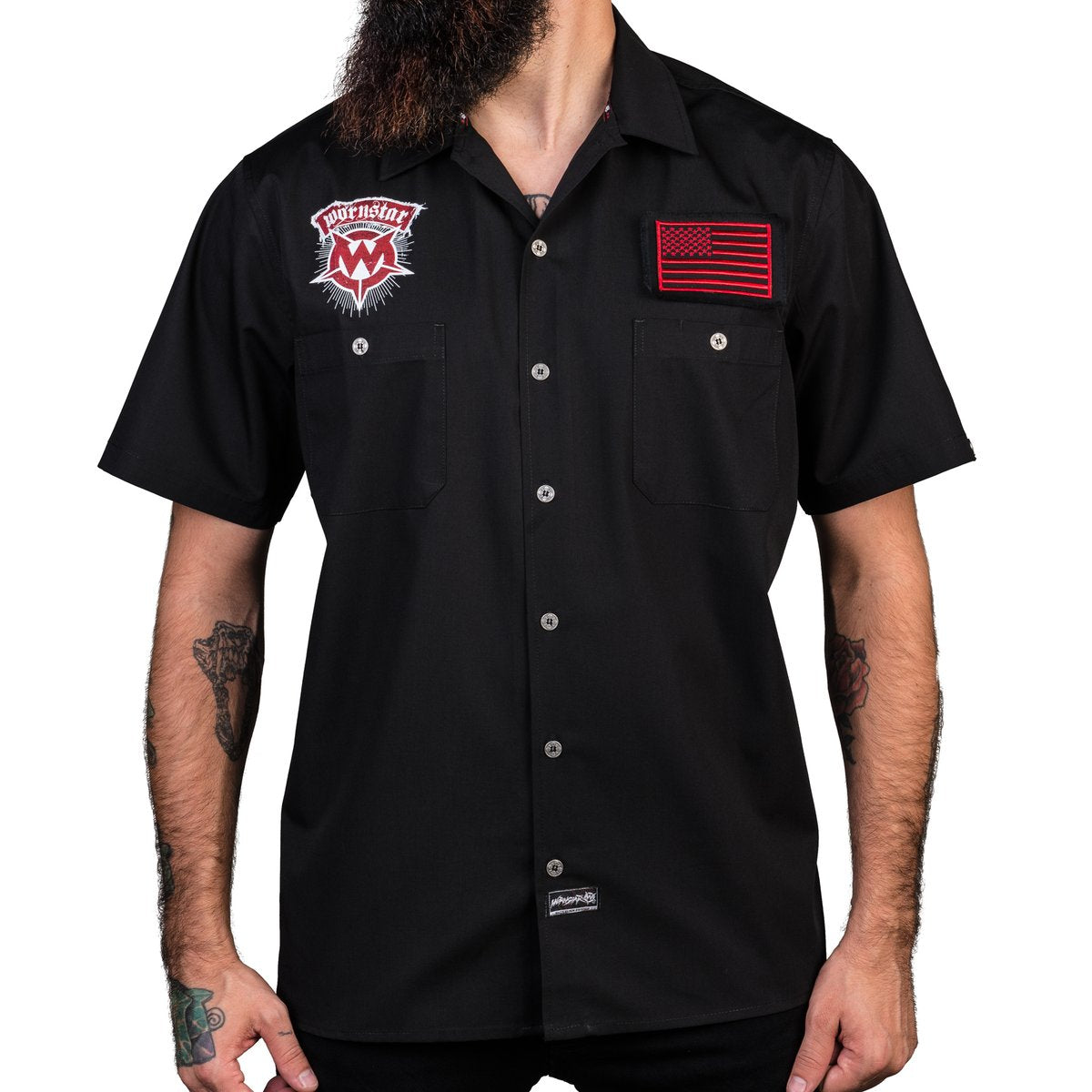 Wornstar Skull Work Shirt