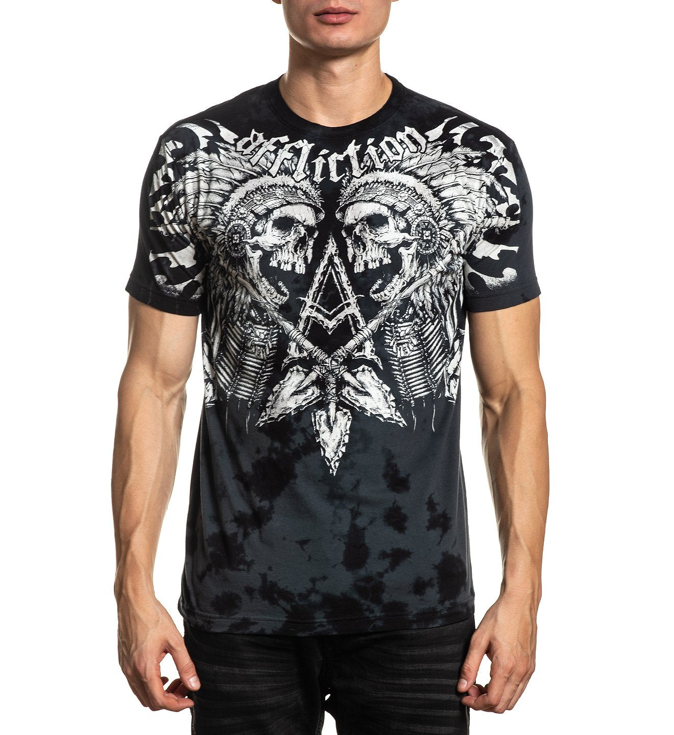 Affliction Apache Freedom Black