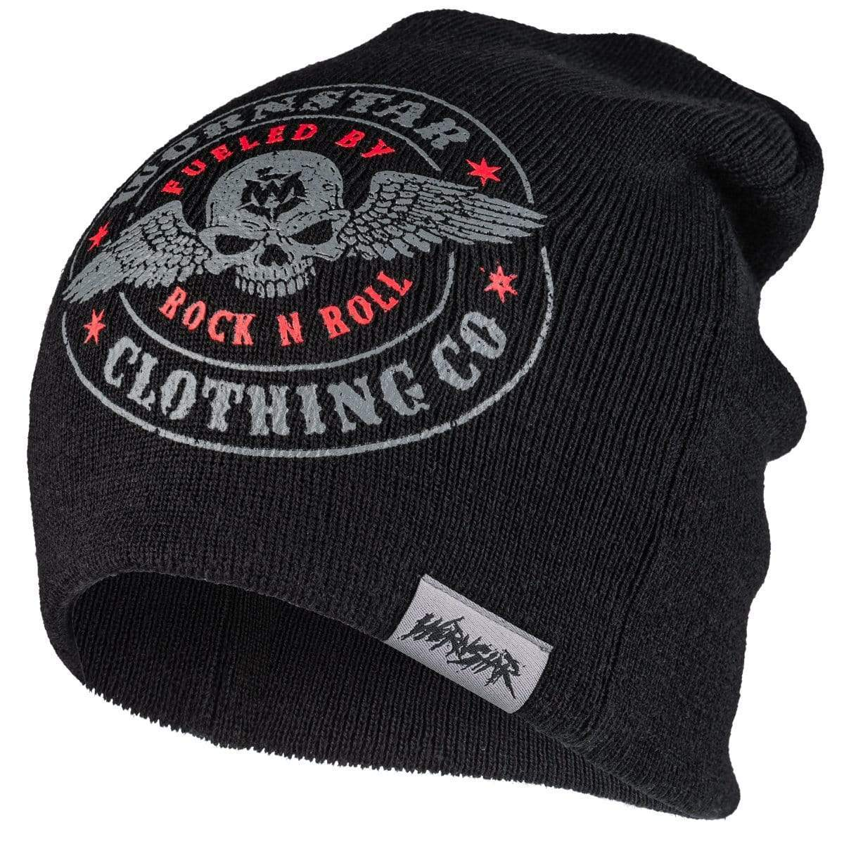 Wornstar Beanie Hat - Fuelled by Rock n Roll