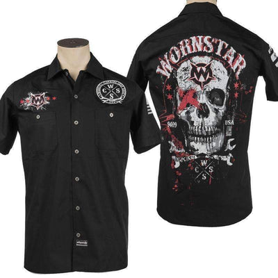 Wornstar Death Mechanic Work Shirt