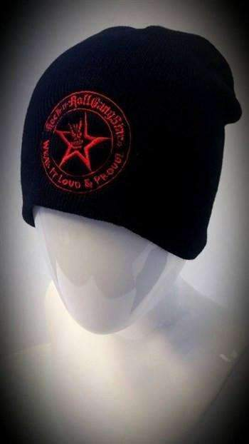 RRGS Wear It Loud and Proud Stocking Cap Beanie Red