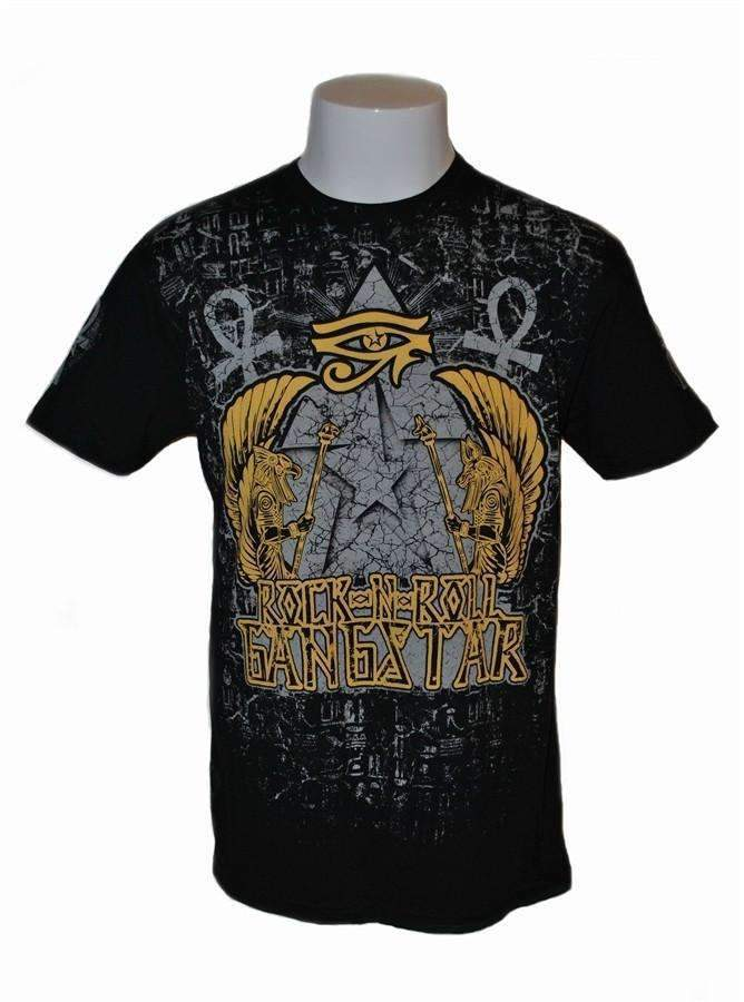 RRGS Egyptian Warrior T Shirt Distressed