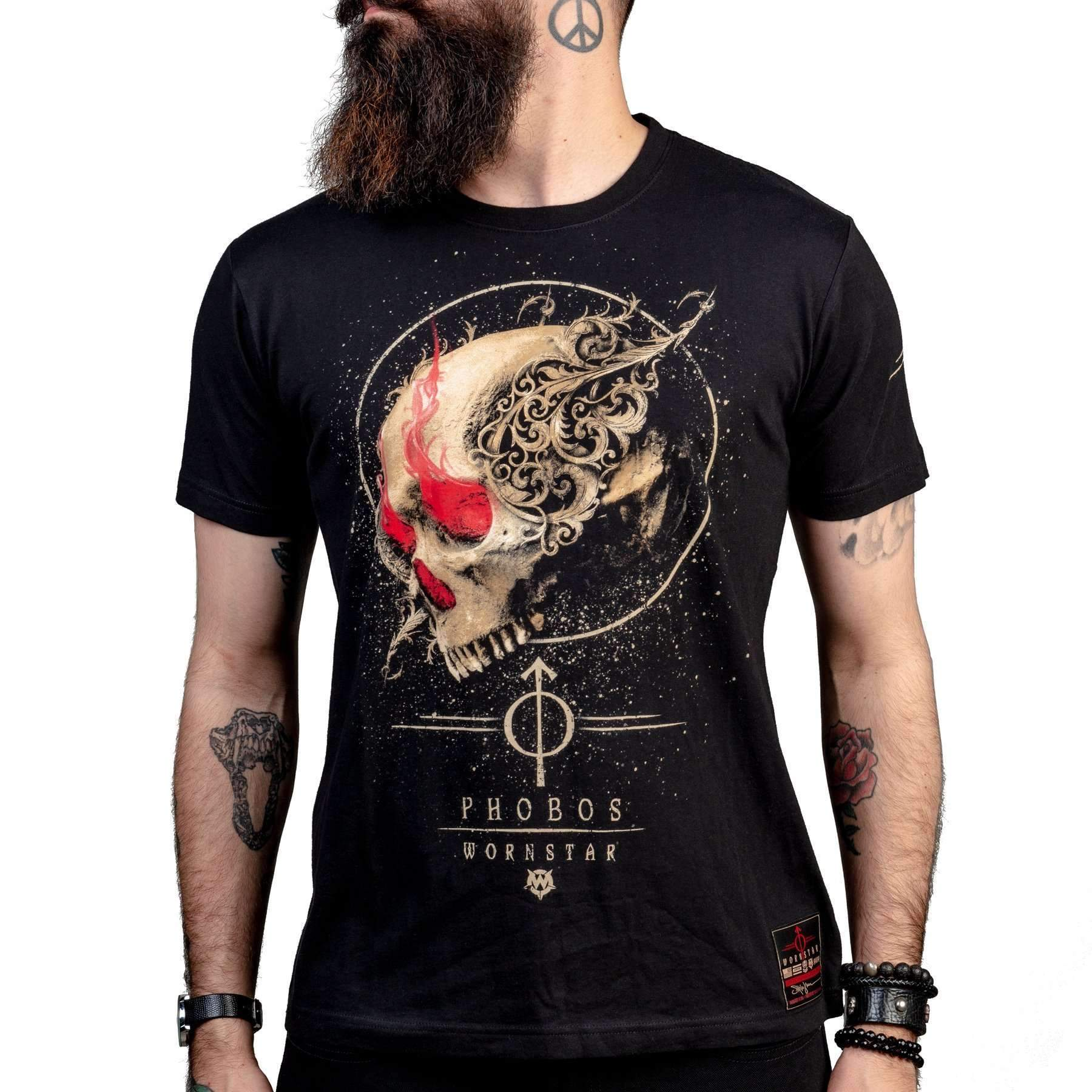 Wornstar Phobos Rock and Roll T-shirt