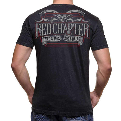 Red Chapter Mens 'Tried and True / Built to Last'