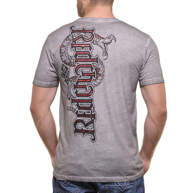 Red Chapter Mens 'Loyalty/Respect' T Shirt