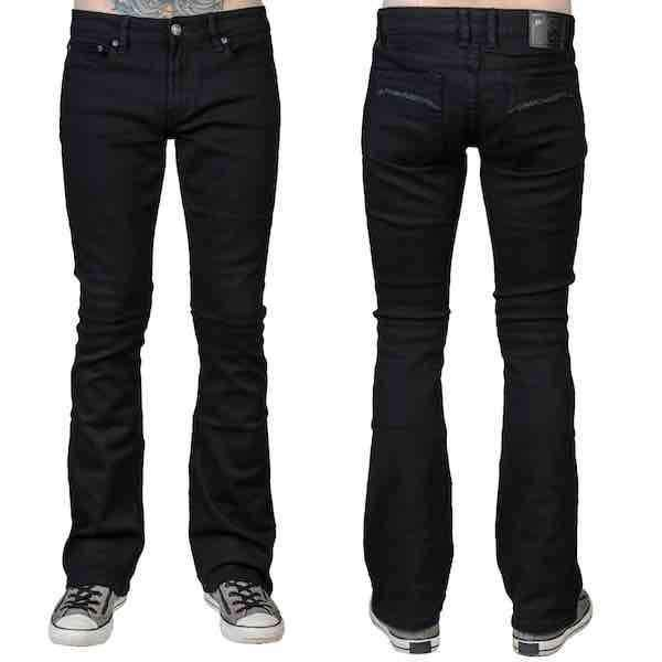 Jeans - Wornstar 'HELLRAISER' SLIM FIT Boot Cut Jeans
