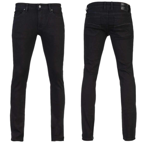 Image of Jeans - Wornstar 'RAMPAGER' BLACK SKINNY CUT Jeans