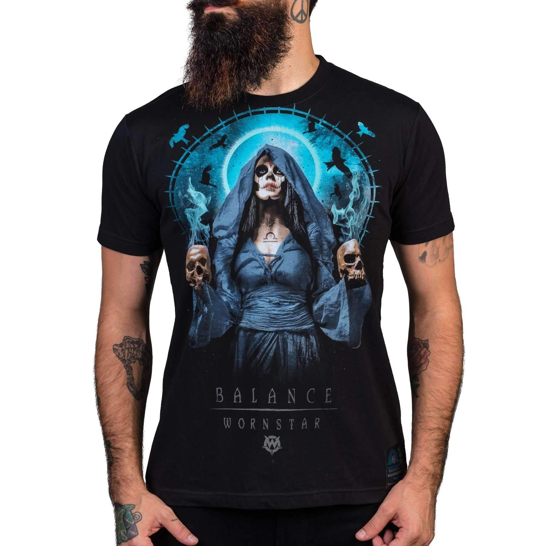 Wornstar Balance Rock and Roll Tee
