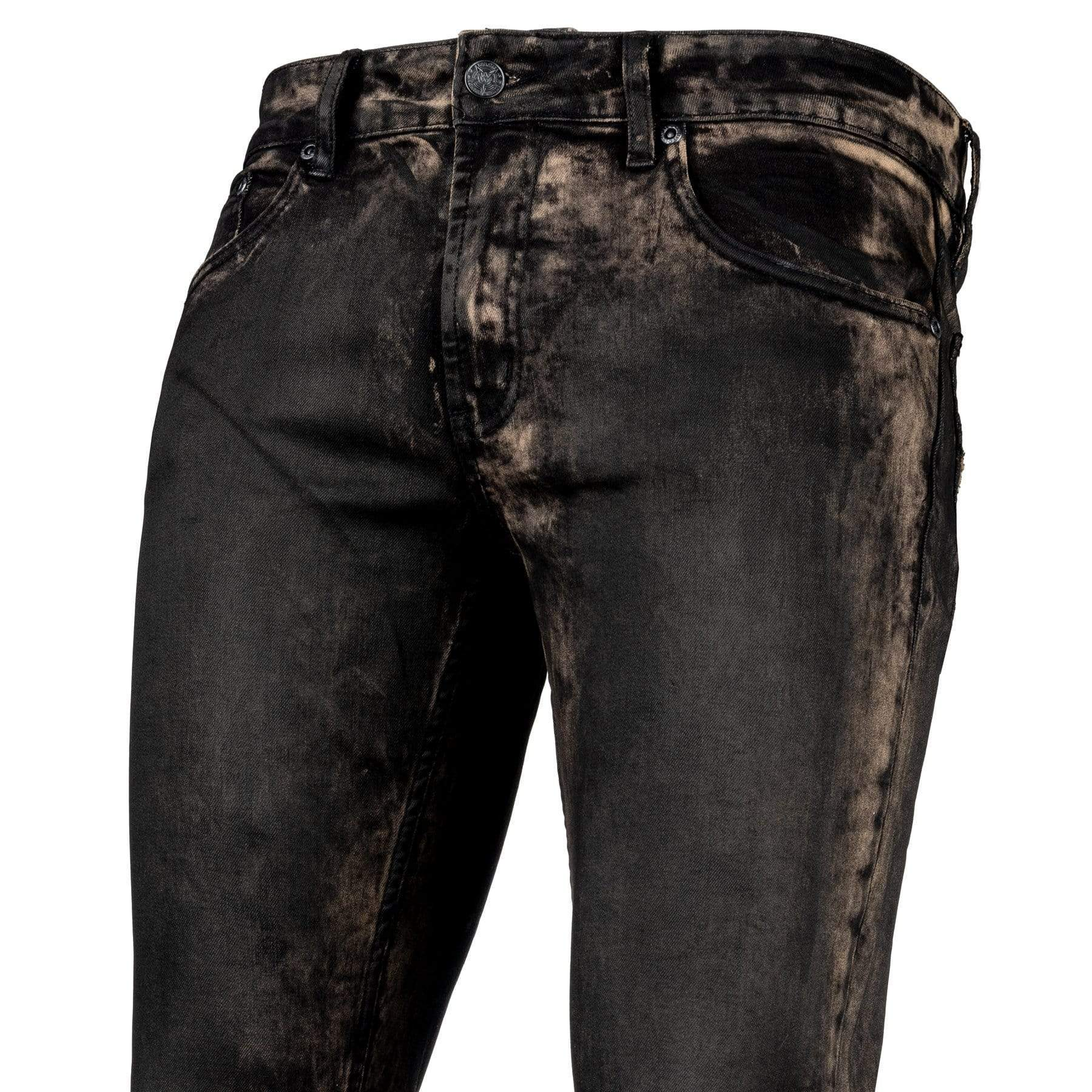 Wornstar Hellraiser Jeans - Raw Umber - The 'Golden' Hellraiser