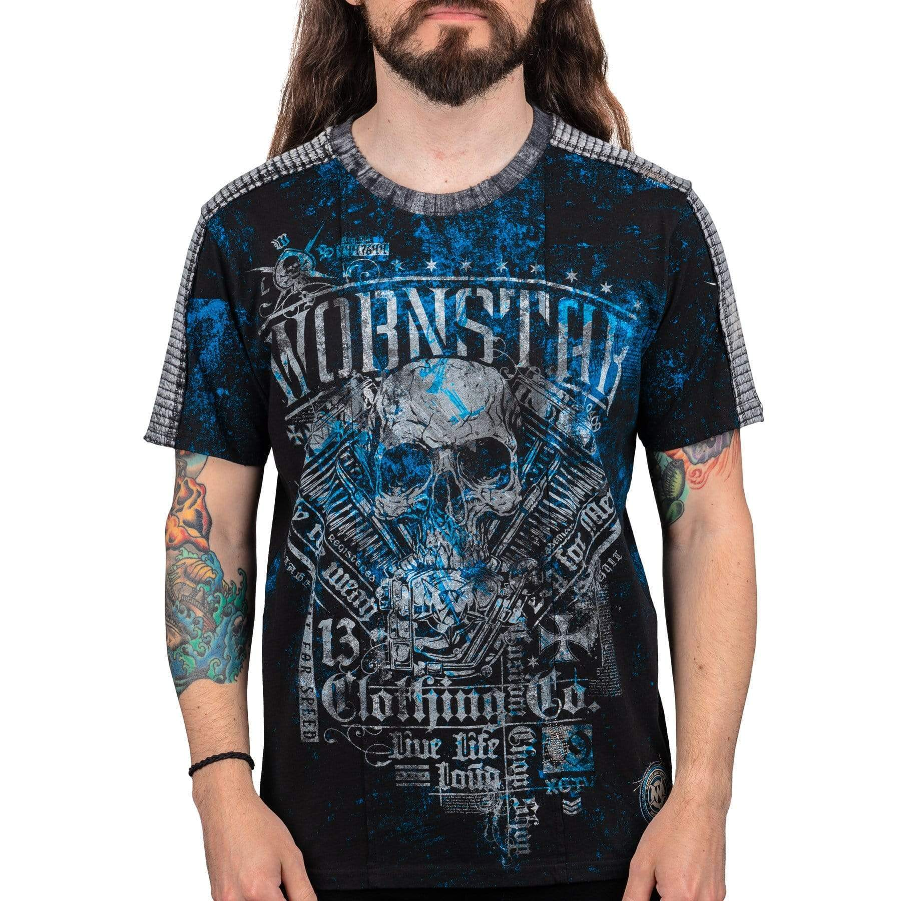 Wornstar Devil's Engine T-shirt