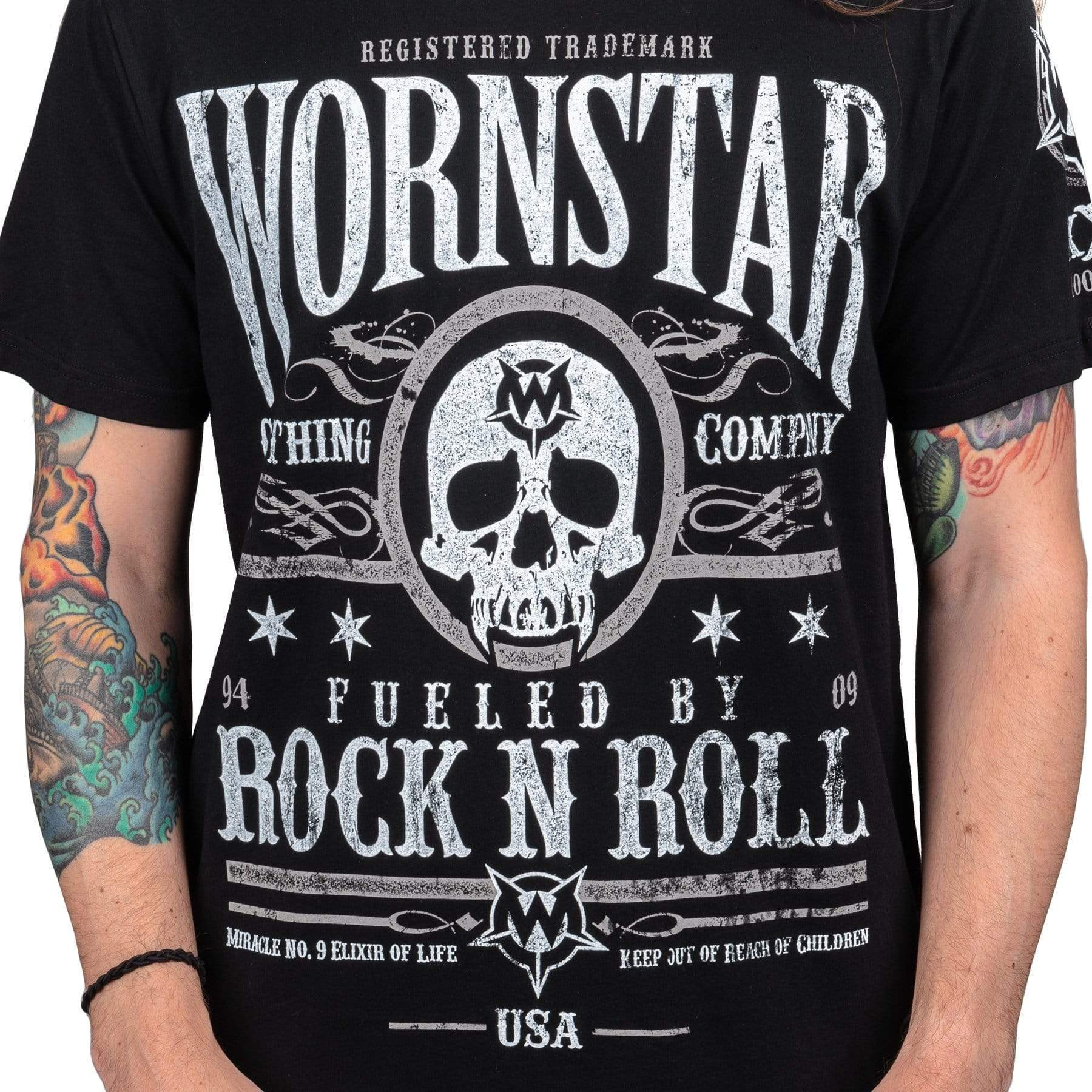 Wornstar Elixir Rock n Roll T-shirt