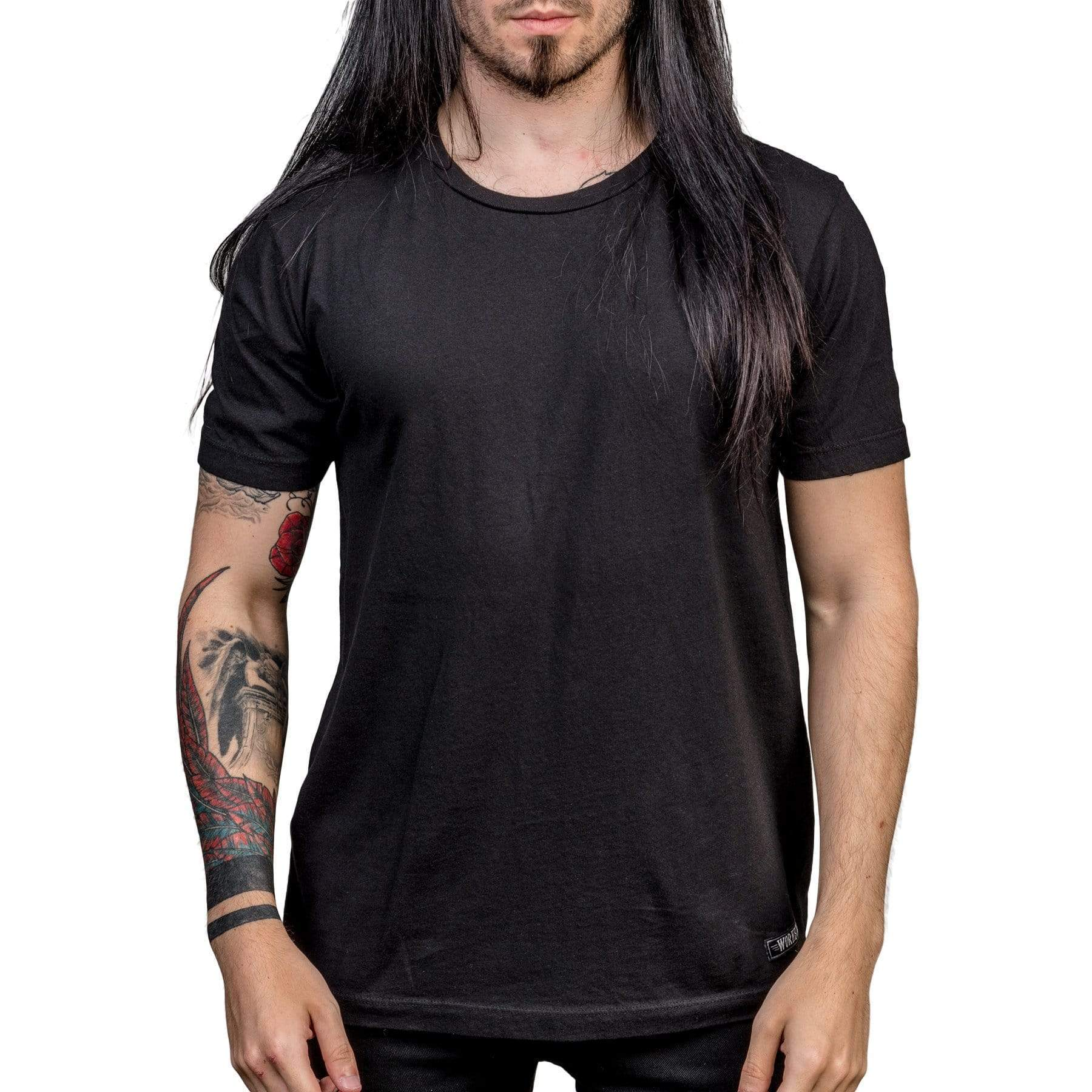 Wornstar Essentials Black T shirt
