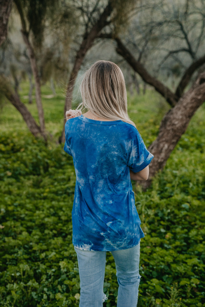 The Sky Dye Pocket Tee