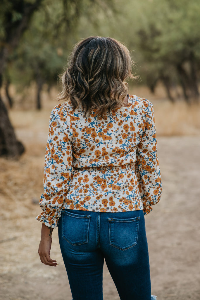 The Farah Floral Top