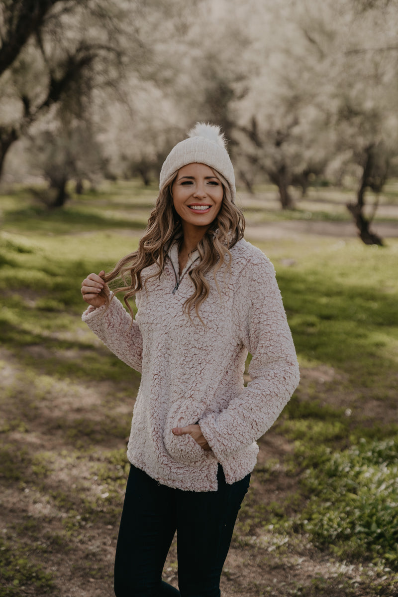 The Daphne Pullover in Mauve