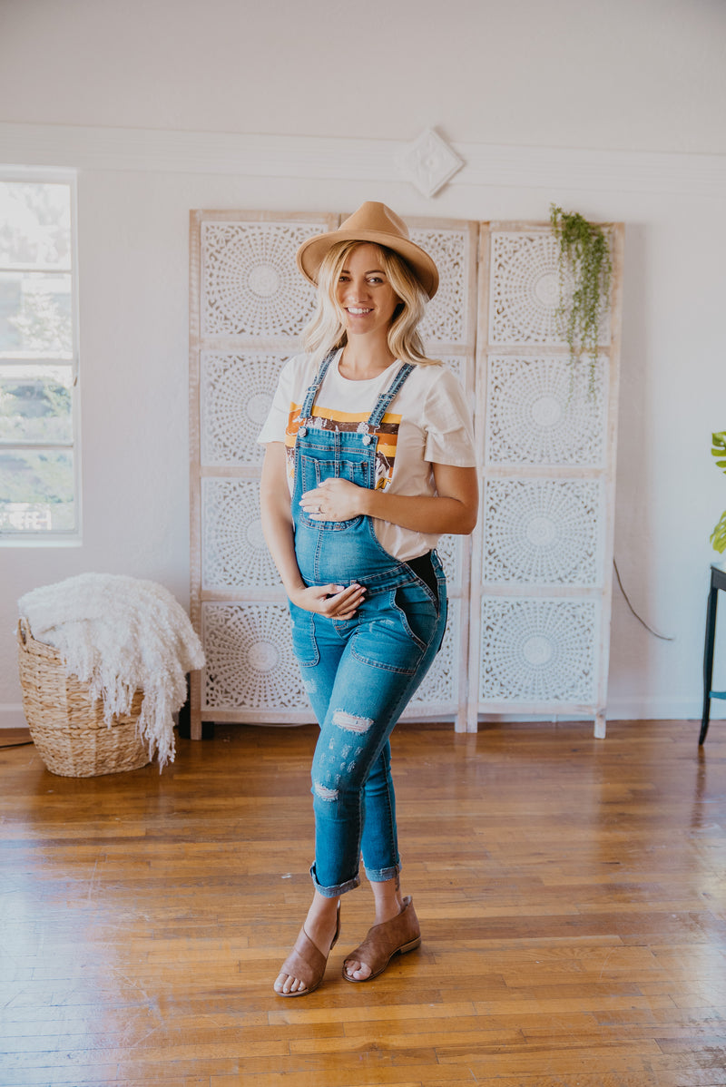 The Mykie Maternity Overalls