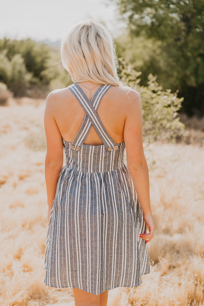 The Starr Striped Sun Dress