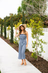 The Cyprus Striped Jumpsuit