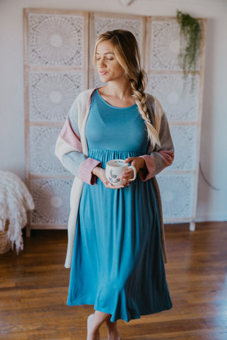 The Damyn Wrap Maxi in Lilac
