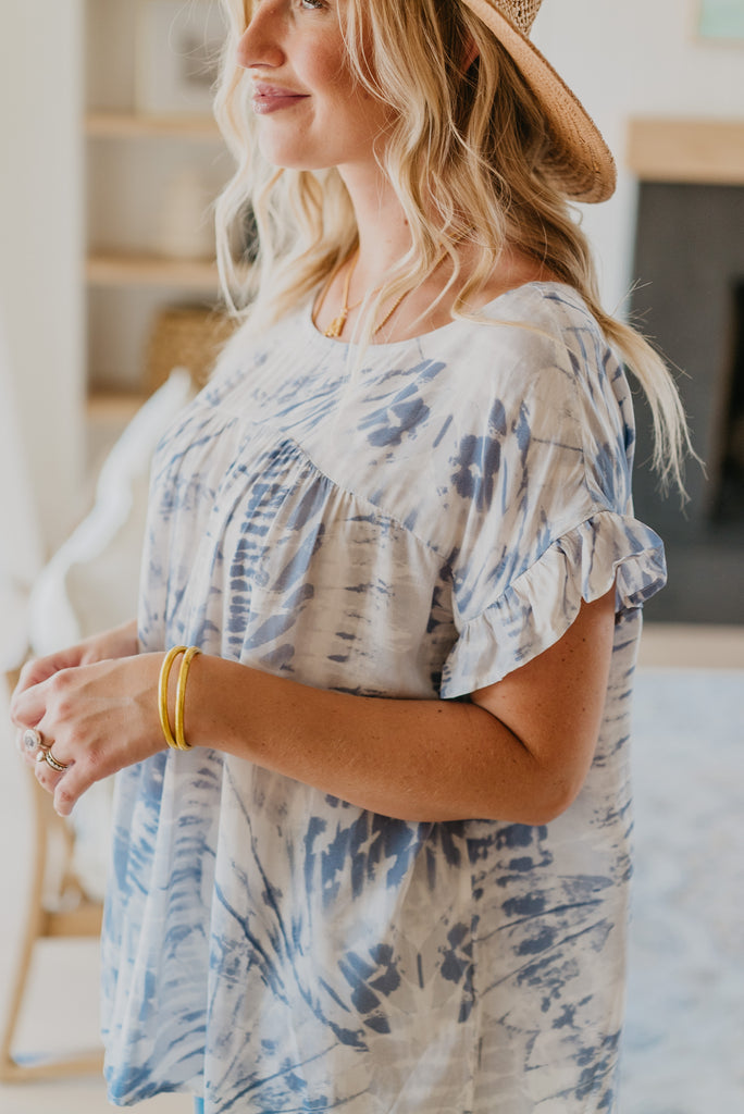 The Tamsyn Tie Dye Top