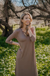 WI Basics: The Beck Maxi in Mocha (Sizes S-3X)