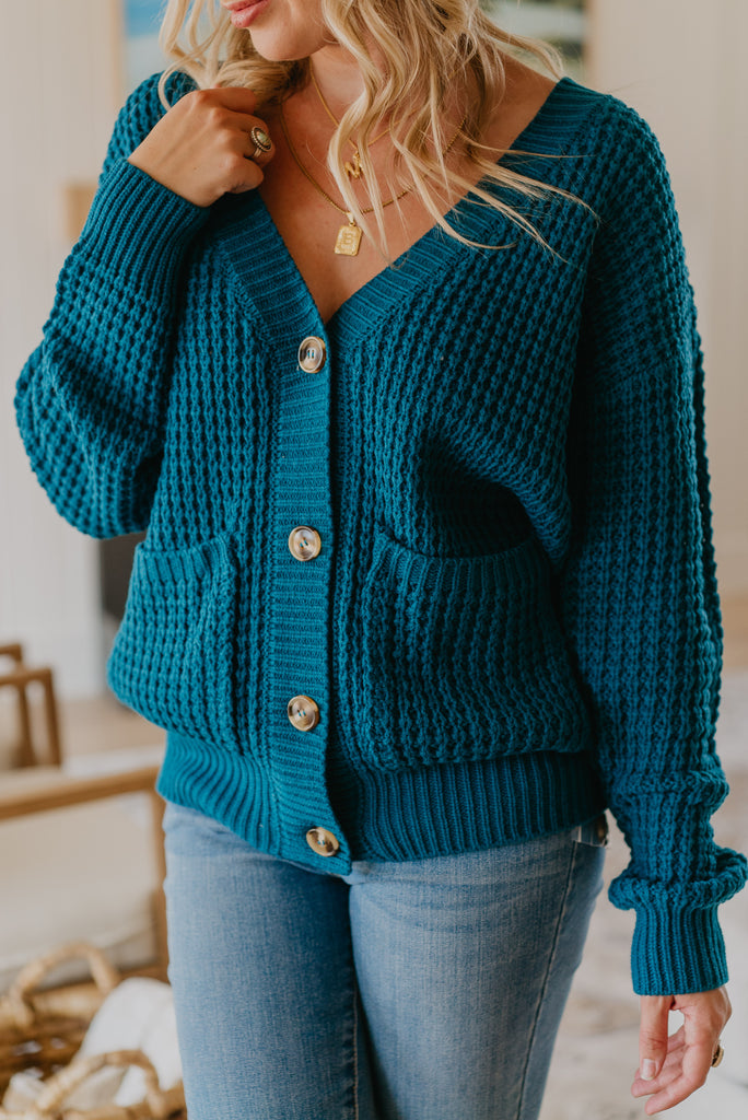 WI Basics: The Kera Button Cardigan