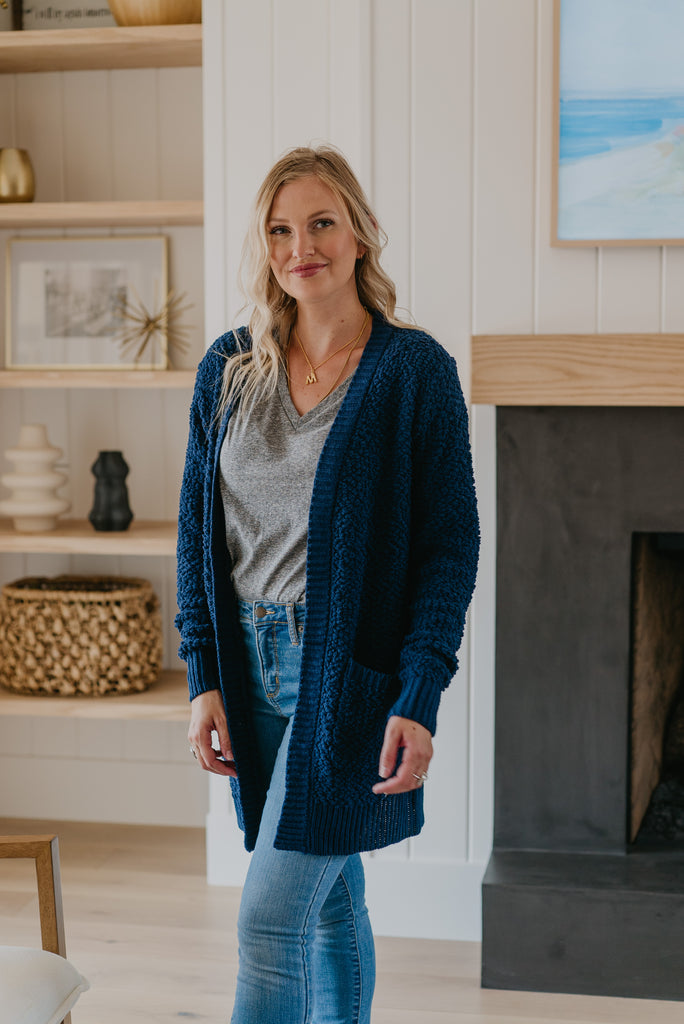 WI Basics: The Tori Cardigan (Sizes S-3X)