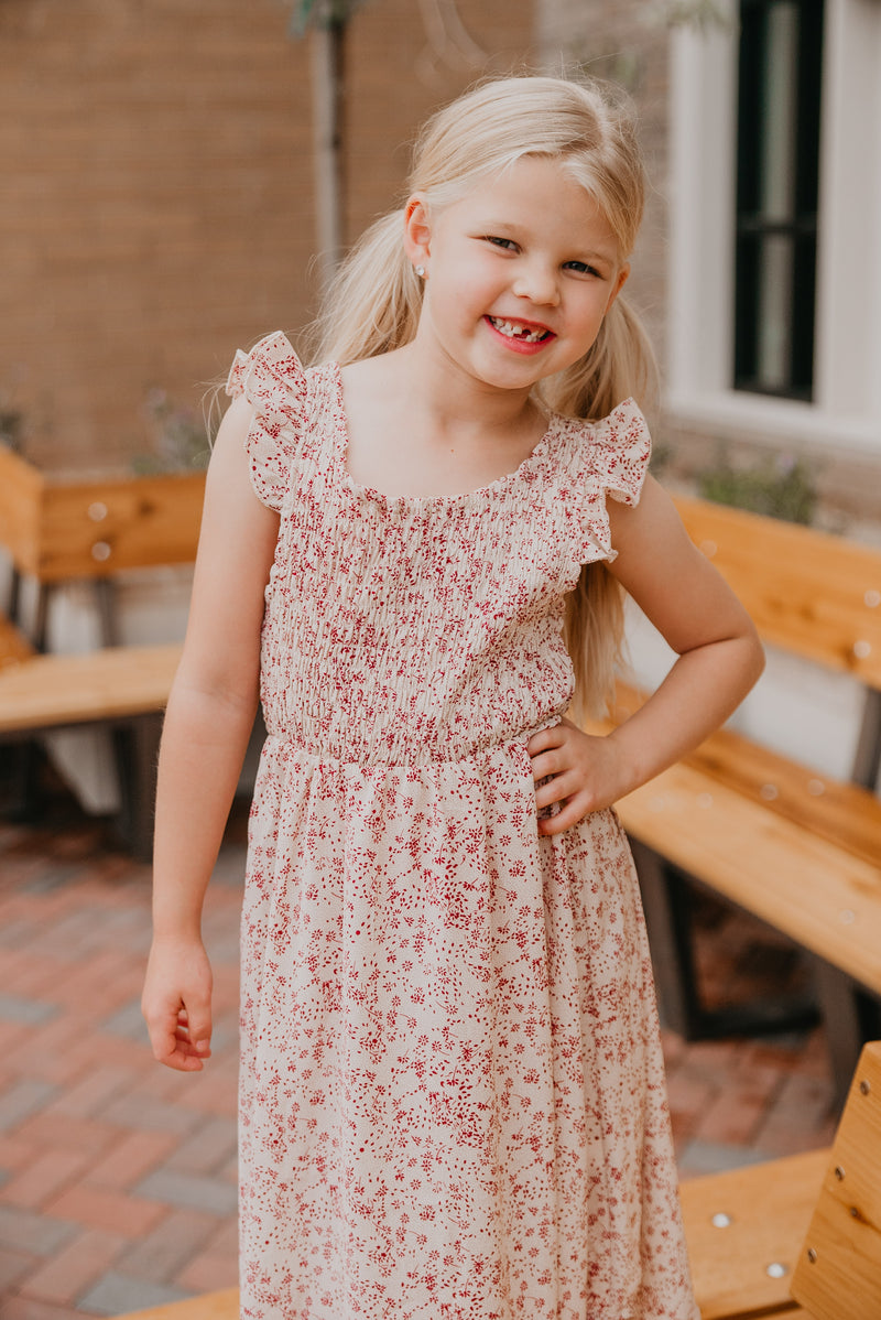 The Mini Lesila Smocked Dress