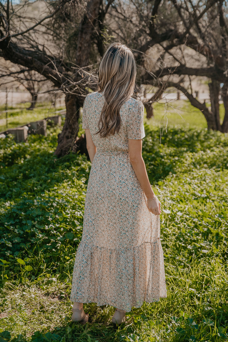 The Countryside Floral Maxi in Ivory