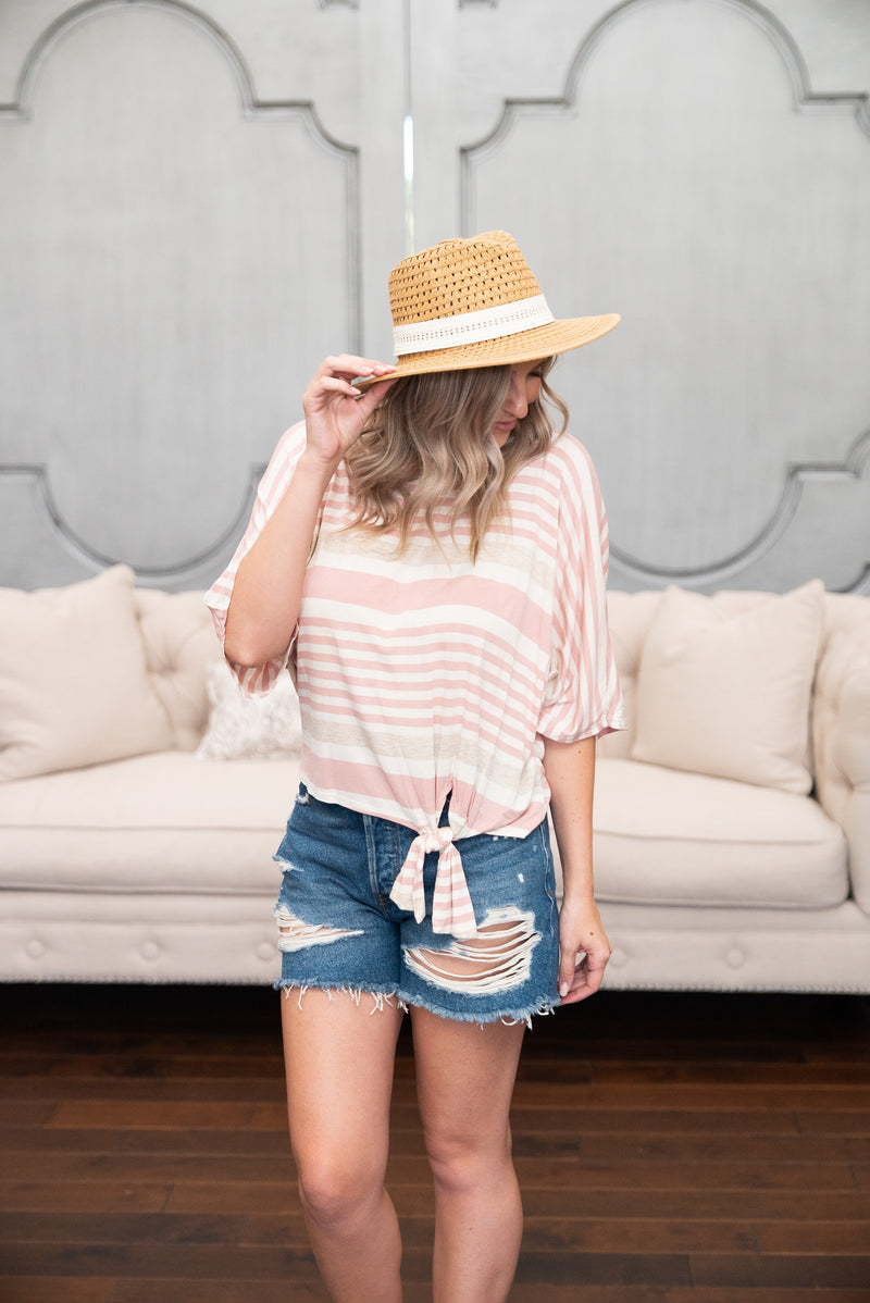 The Hayes Striped Top