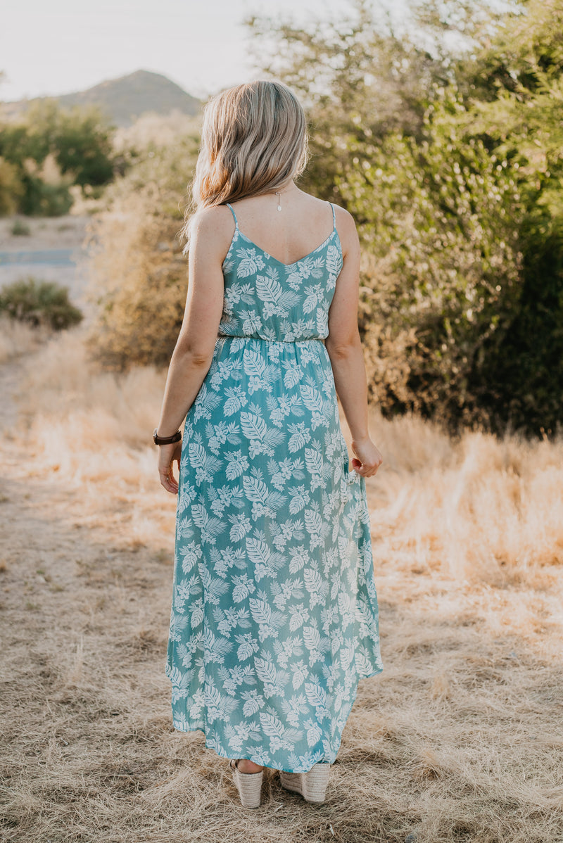 The Monterrey Overlay Dress in Sage