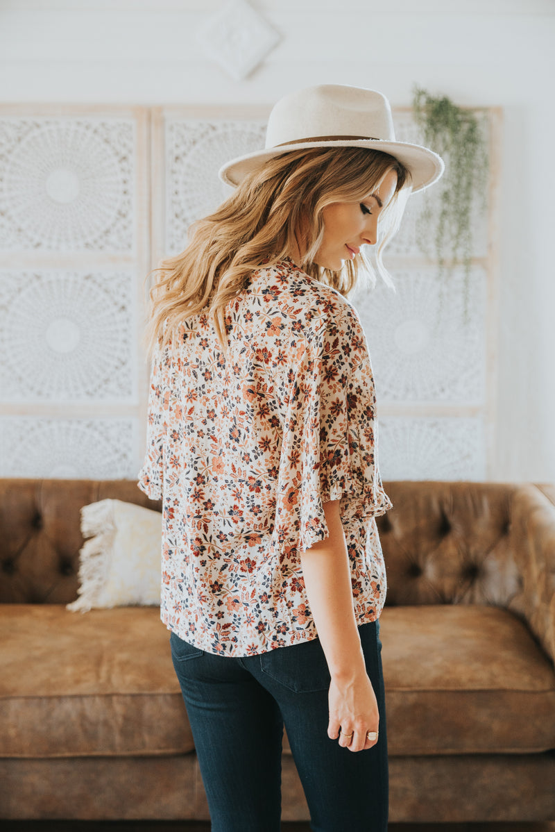 The Kiel Floral Blouse