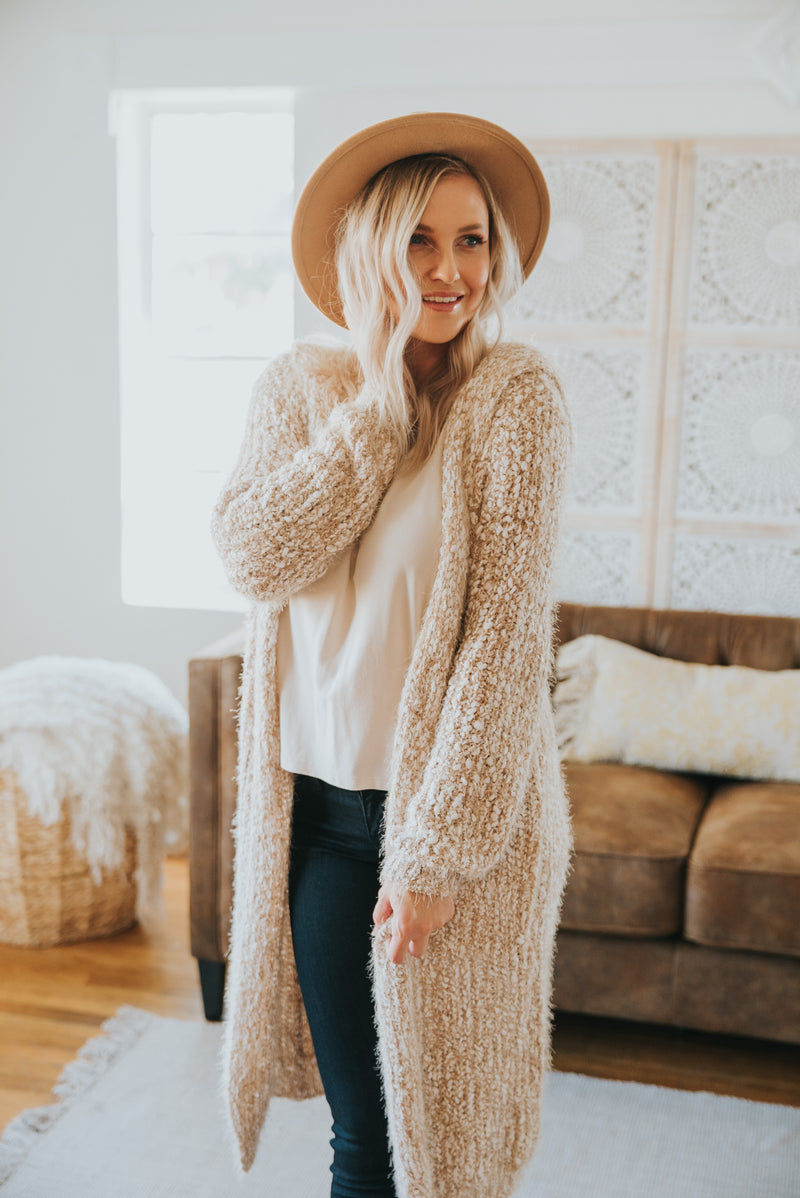 The Foxborough Long Cardigan