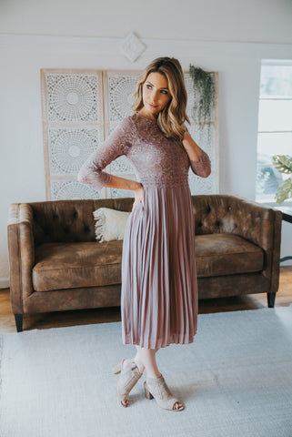 The Margot Maxi in Lilac