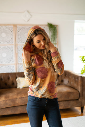 The Dane Tie-Dye Knit Pullover in Iris