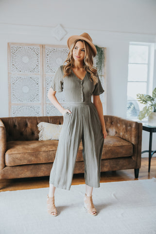 The Vineyard Mixed Print Maxi in Sage