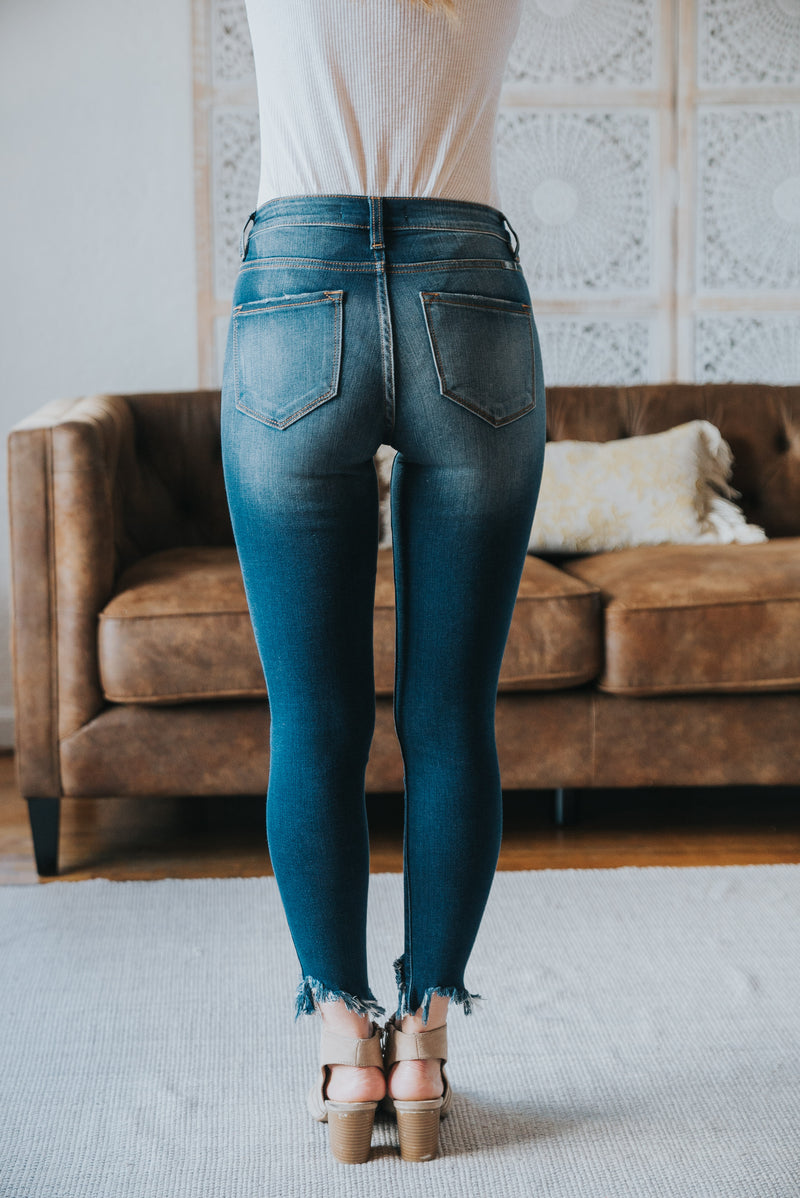 KanCan: The Barlett High Rise Button Jeans