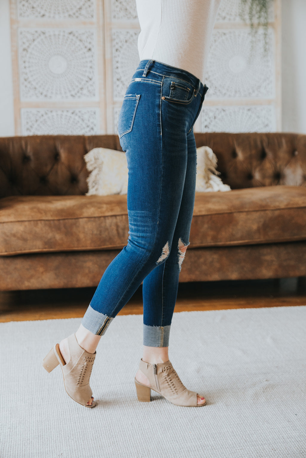 KanCan: The Rowell Distressed Skinny Jeans