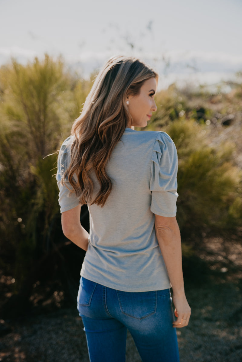 The Aliley Top in Sage