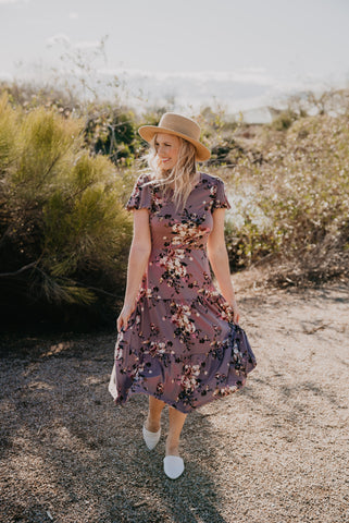 The L'Amour Floral Dress
