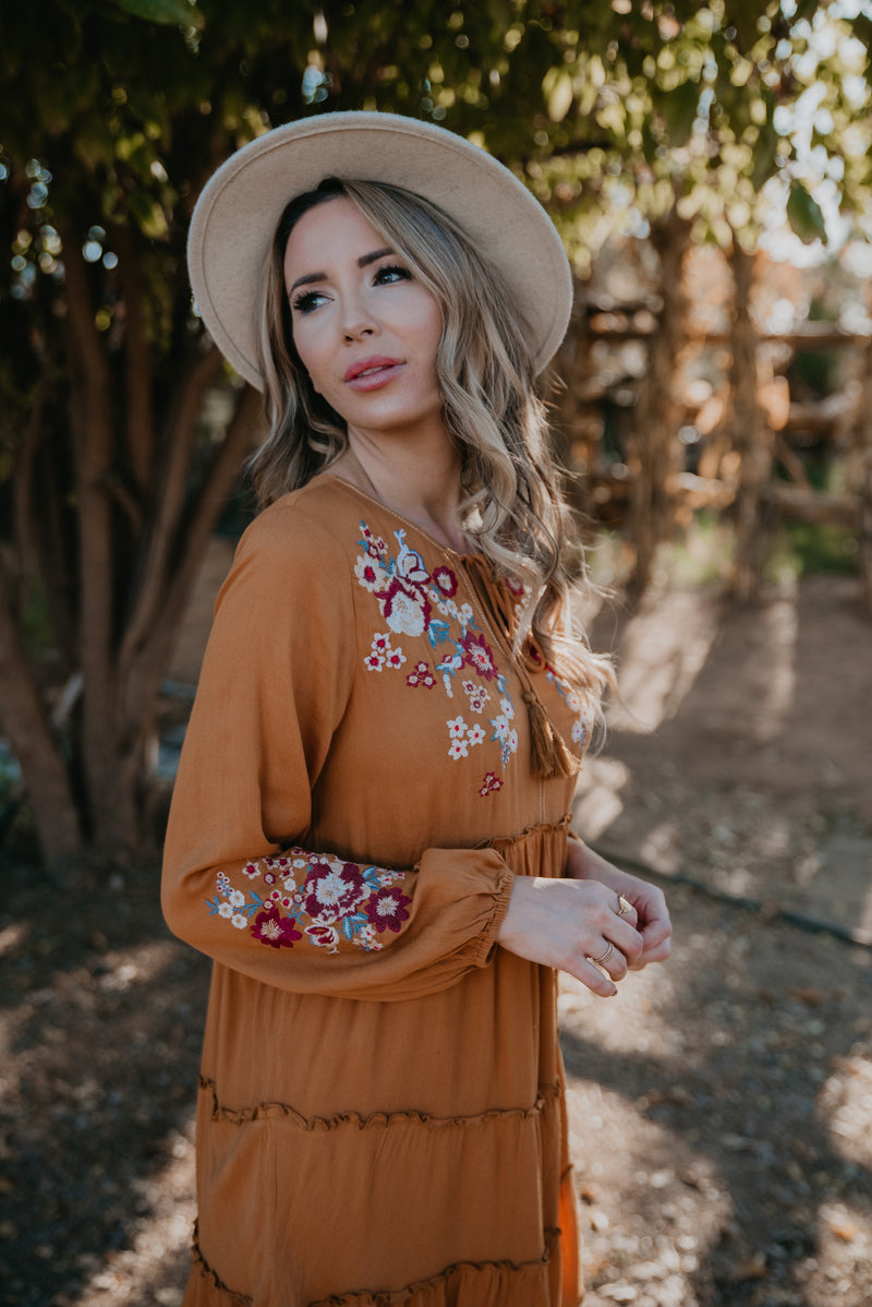The Autumn Embroidered Dress