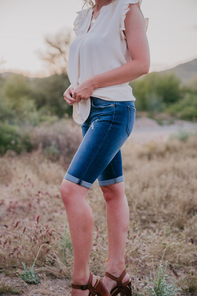 KanCan: The Carter Bermuda Shorts