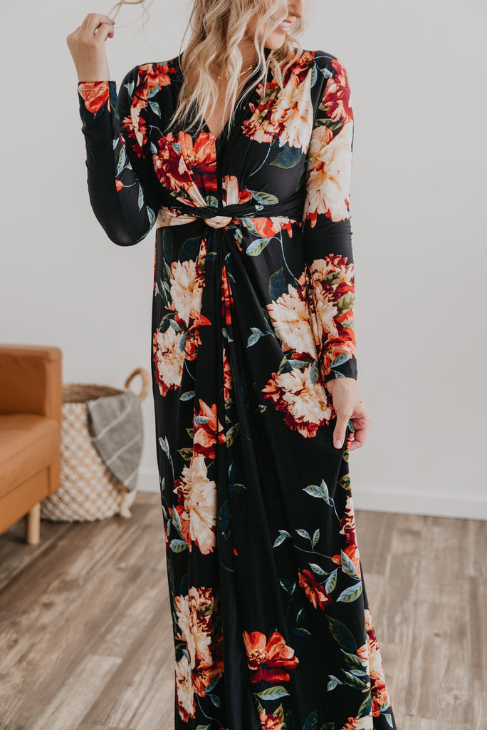 The Saundra Knotted Maxi
