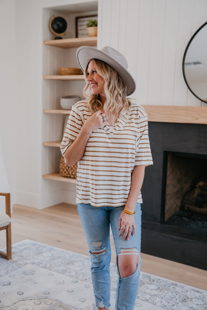 The Talelio Striped Top