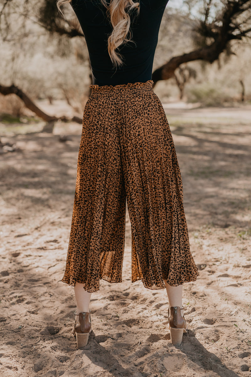 The Landry Leopard Print Pants
