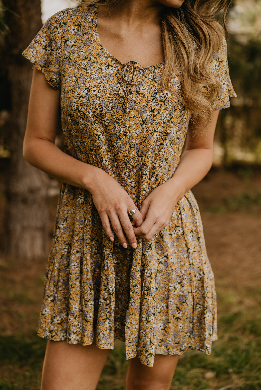 The Blossom Floral Mini Dress