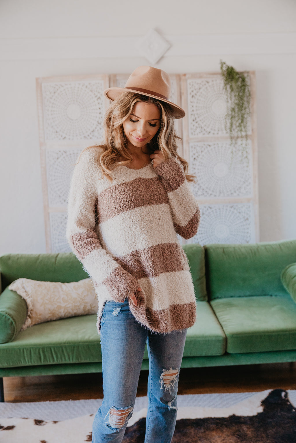 The Ryland Stripe Sweater