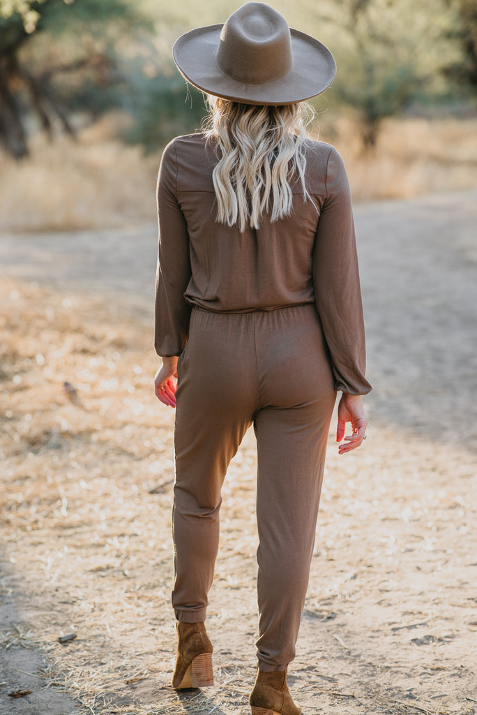 WI Basics: The Josie Jumpsuit  (Sizes S-3X)